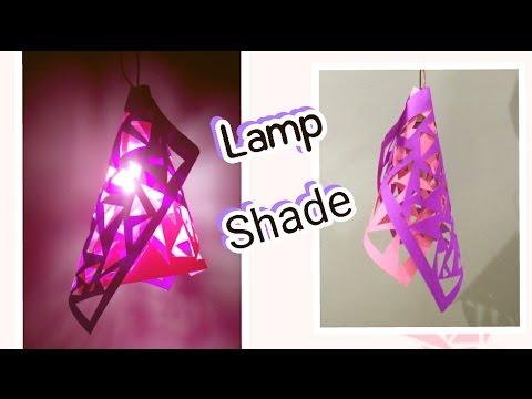 DIY Lamp Shade using Paper | Enjoy Crafting # 58