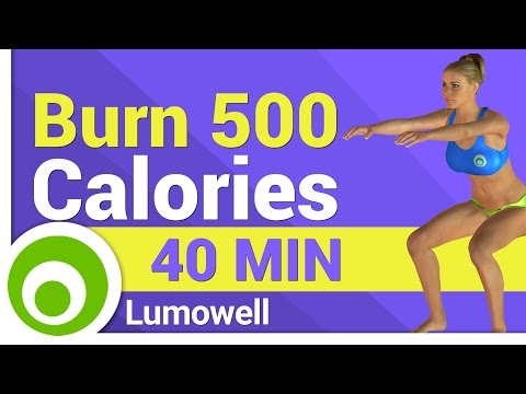 Burn 500 Calorie in 40 Minutes - Fat Burning Workout