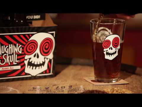 Red Brick Laughing Skull Amber Beer