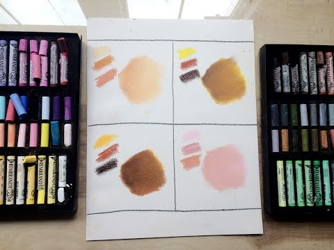 HOW TO: Working In Chalk Pastel | Skin Tones