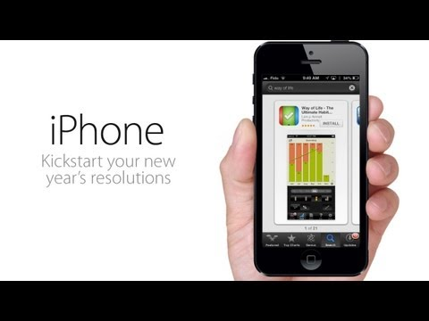 New Year's RESOLUTIONS App for iPhone, iPod, iPad