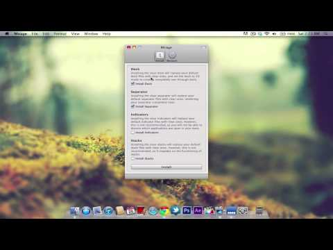 Invisible Dock in Mac OS X