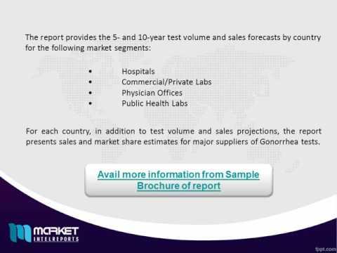 World Gonorrhea Diagnostic Testing Market Outlook Till 2020 | Revenue Models