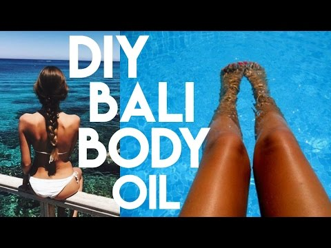 DIY BALI BODY TANNING OIL | proofisinthepretty