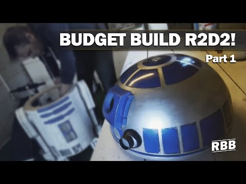 Build Your Own R2D2 (on a budget)