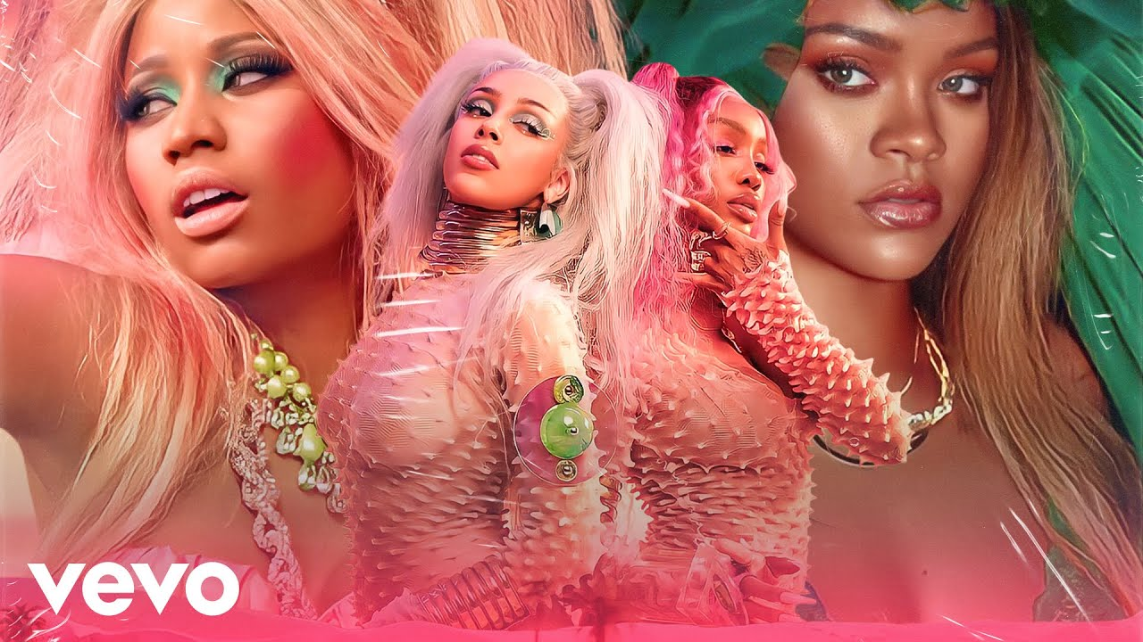 Download Doja Cat - Kiss Me More (feat. SZA, Nicki Minaj & Rihanna) [MASHUP] MP3 Gratis