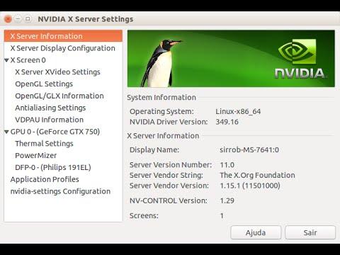 Como instalar Nvidia em Ubuntu e Linux Mint - use ppa graphics-drivers