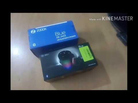 Zoook JB JAZZ Bluetooth speaker : Review & Unboxing