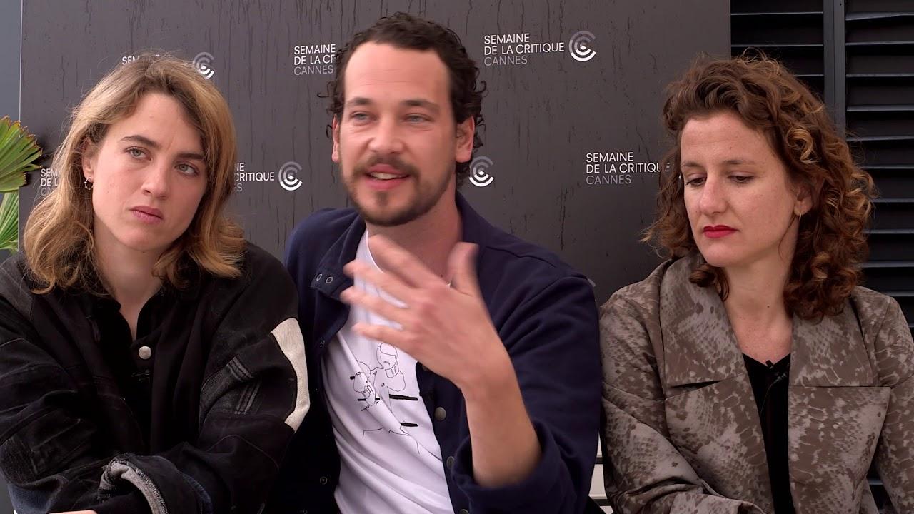 Interview Adèle Haenel, Jonathan Couzinié & Antonia Buresi (LES HÉROS NE MEURENT JAMAIS)