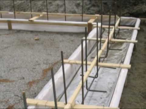 Fastfoot® Residential Concrete Footing Installation