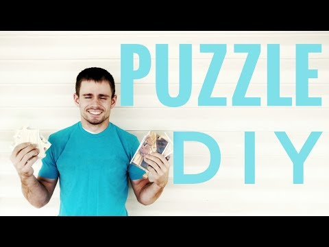 Make Your Own Jigsaw Puzzle | DIY Jigsaw Puzzle