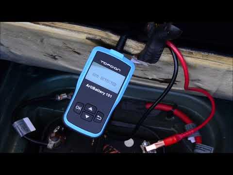 $54.99 Car Battery Tester - Topdon ArtiBattery 101