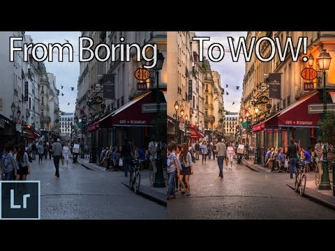 How to Turn a Boring Photo Into an Awesome Image With Lightroom!  - Lightroom Photo Editing
