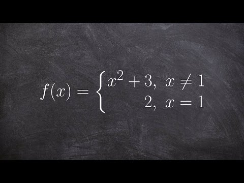 Calculus - Evaluating the limit of piecewise functions