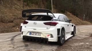 Hyundai i20 WRC 2017 Test - Dani Sordo/Marc Marti