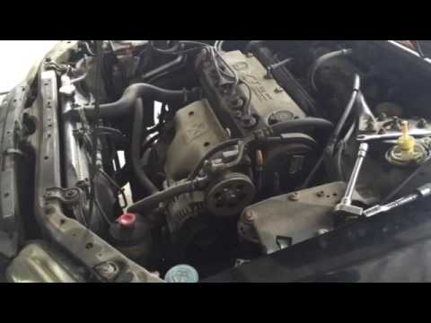 How to replace the master cylinder in a 2001 Honda Accord