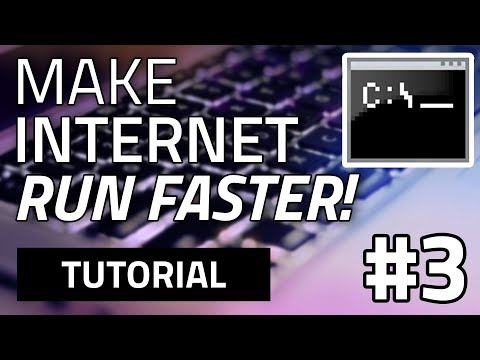 #3 How To Make Your Internet Speed Faster For Free (Using CMD) — EOTO Tech