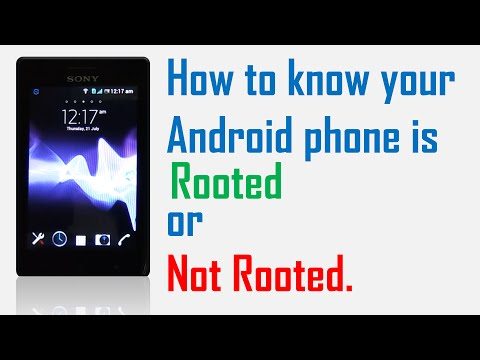 How to know or check my Android phone is Rooted or Not Rooted ?
