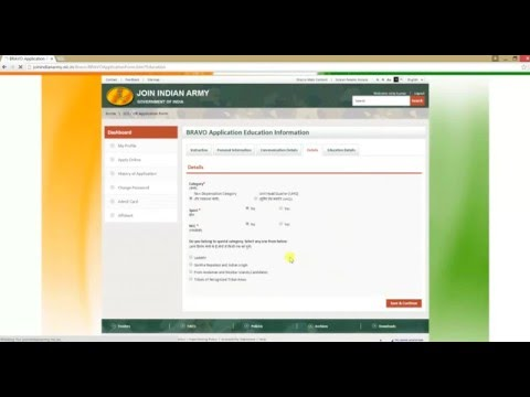How to Apply online for Army Recuirement 2017