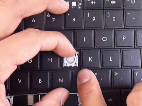 Replacement Keyboard Key HP Pavilion Compaq Presario Repair Guide G62 G72