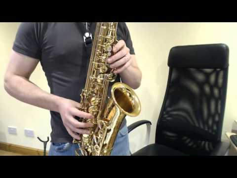 How to play Somebody that I Used to Know by Gotye on Saxophone (Saxophone Lesson PS102)