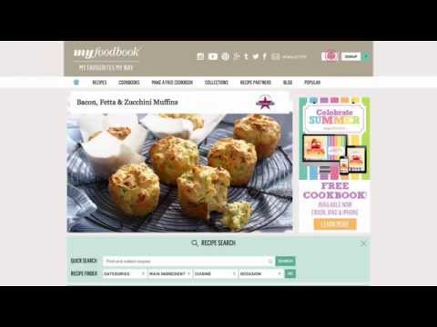 Create your own Cookbook with myfoodbook