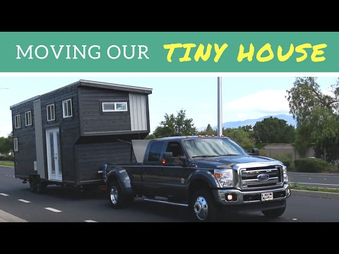 Moving our tiny house in the San Francisco Bay Area
