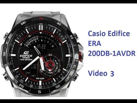 Casio Edifice ERA 200DB 1AVDR quick checkout 3