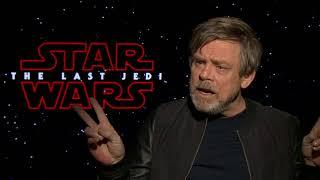 Star Wars: The Last Jedi Interview - Mark Hamill