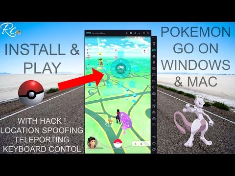 [NEW] How to Install & Play Pokemon Go on Windows PC, Laptop or MAC with Hacks using Nox
