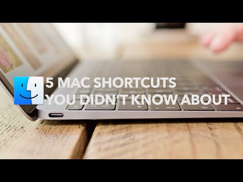 5 Mac Shortcuts You didn't Know Existed
