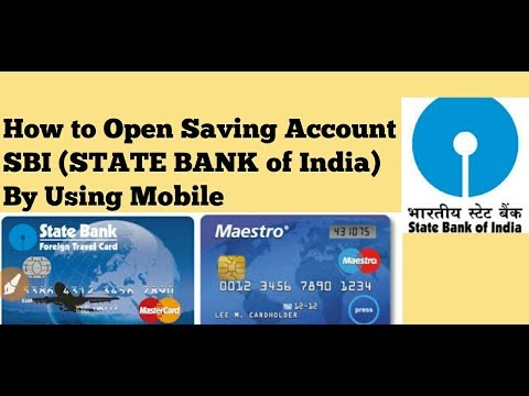 How to Open Saving Account in SBI (STATE BANK OF INDIA)