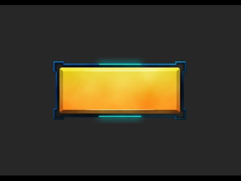 Photoshop Game Button #13 [UI design]