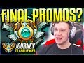 FINAL MASTER PROMOS??????? DID I MAKE IT? - Journey To Challenger   League of Legends