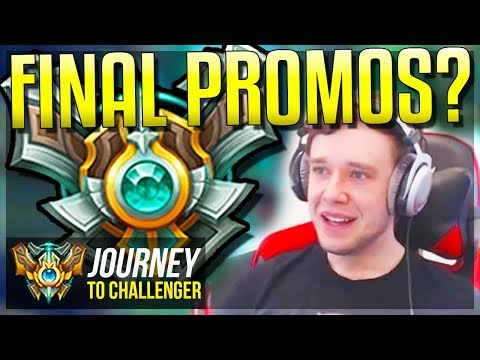 FINAL MASTER PROMOS??????? DID I MAKE IT? - Journey To Challenger | League of Legends