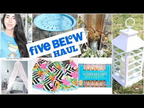 FIVE BELOW HAUL 2018
