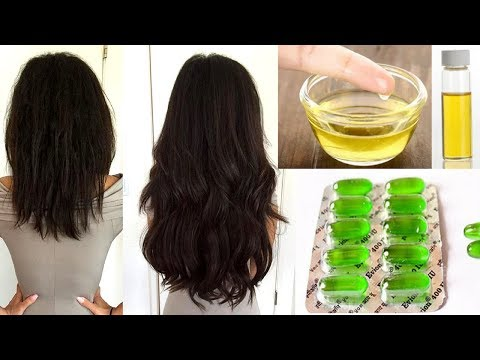 Homemade Vitamin E Hair Oil For Extreme Hair Growth | Regrow Hair and Stop Hair Fall (Works 100%)
