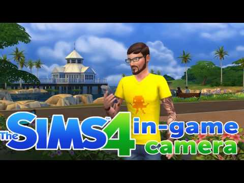 The Sims 4 - In-game camera