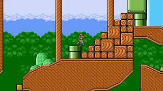 Super Mario Bros X SMBX Playthrough Super Kaizo Mario World 3 X