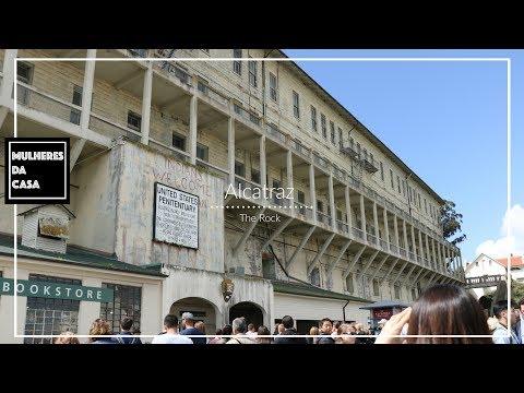 Alcatraz - Passeio em Alcatraz -  California