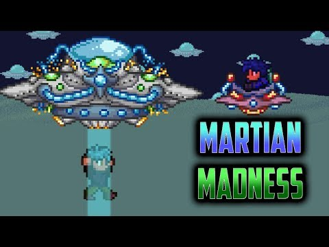 Terraria 1.3 Mobile iOS/Android Martian Madness Invasion - Early Beta Update Gameplay