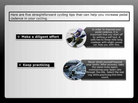 How To Increase Pedal Cadence In Your Cycling