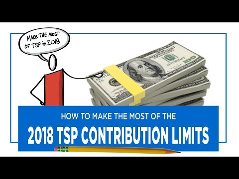 How To Make The Most of Your TSP in 2018 + A Retirement Success Habit