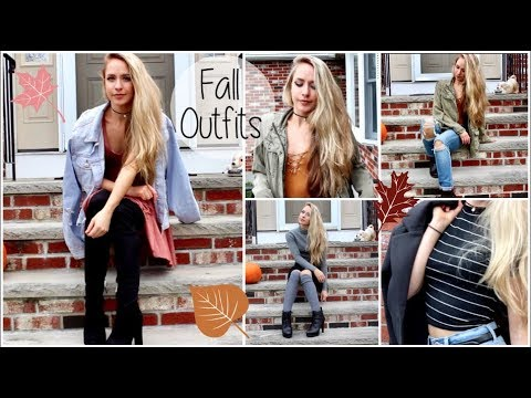 Fall Outfit Inspiration 2017 | Fall Lookbook