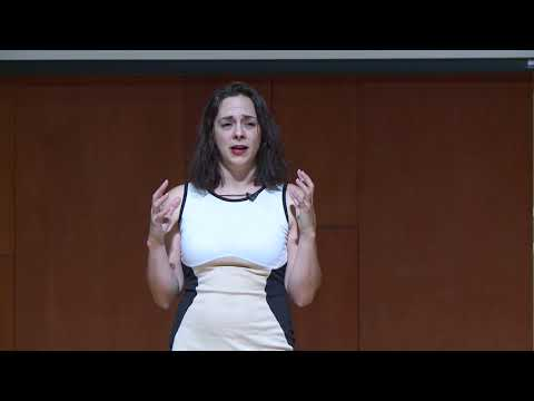 Deaf Beginnings: A story of girl with no real native language | Krystal Sarcone | TEDxBrownU