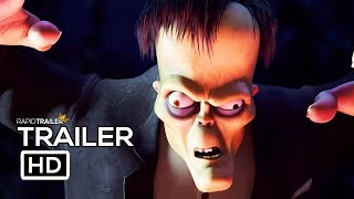 THE ADDAMS FAMILY Official Trailer #2 (2019) Animated Movie HD
