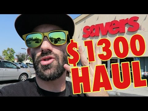 $1300 HAUL IN 3 HOURS ON A SATURDAY - SOURCING TRIP RESELLING AMAZON FBA