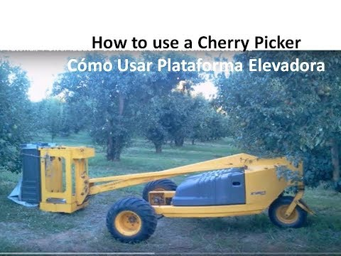 #CherryPicker Tutorial/ Power ladder - Cómo usar una Plataforma elevadora