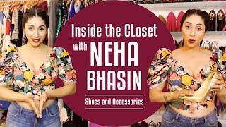 Inside the wardrobe with Neha Bhasin- Shoes and Accessories Edition | S01E08 | Pinkvilla | Fashion
