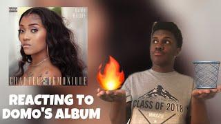 reacting to domo wilson's album | Chapter 25: Domonique
